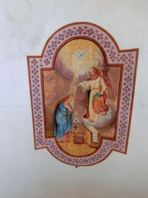 Deckenmalerei in der Lechtlkapelle in Mals im Vinschgau